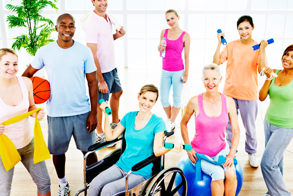 Fitness for all abilities